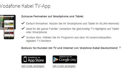 Kabel Deutschland Fernbedienung App: Preise und Infos
