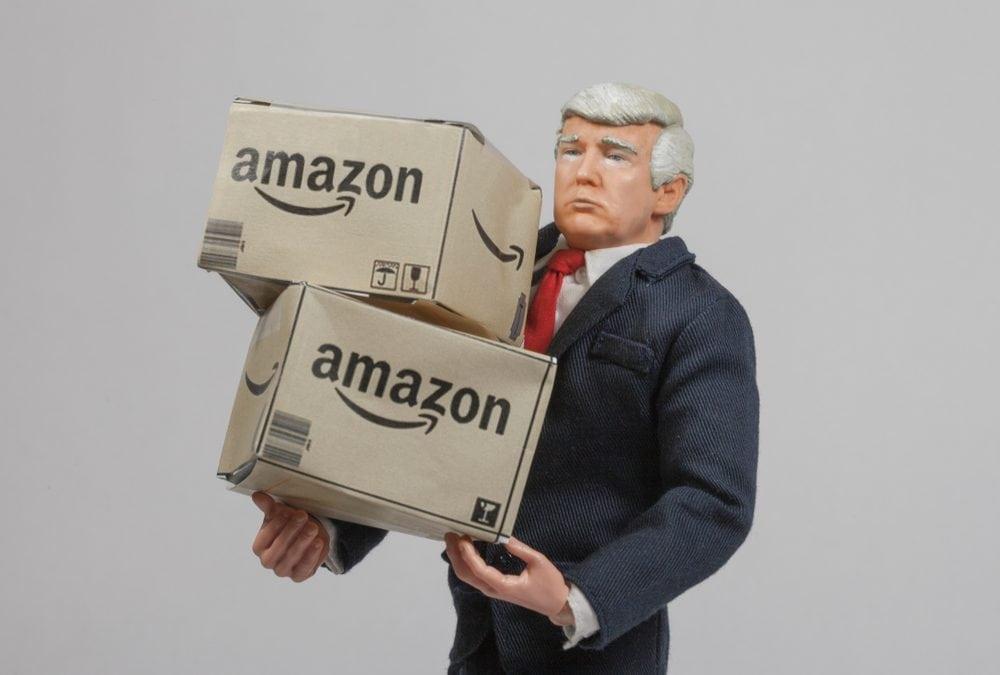 Facebook? Egal! – US-Präsident Donald Trump hat es auf Amazon abgesehen!